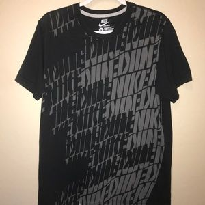 Nike all over print tee